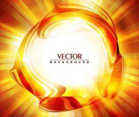 Abstract Backgrounds with Fiery vector set 02