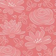 Link toVivid flower pattern design vector graphic 05