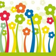 Link toDifferent cartoon flower mix design vector 02