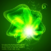 Link toAbstract background with green vector graphic 03