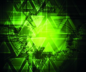 abstract background with Green vector graphic 04