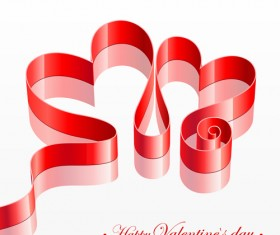 Happy Valentine day cards design elements vector 03