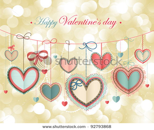 happy valentine day cards design elements vector 04
