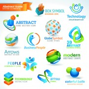 Link toDifferent industries icons and symbols vector 02