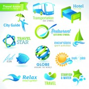 Link toDifferent industries icons and symbols vector 04