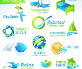 Different industries Icons and Symbols vector 04