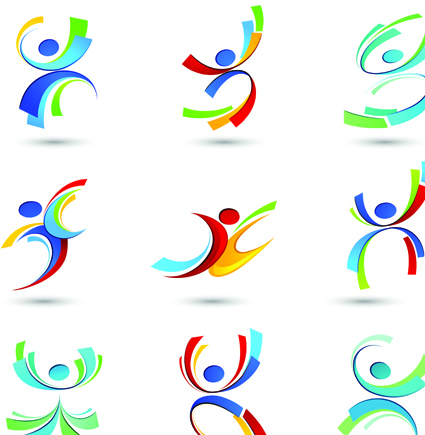 sport elements logo and icon vector 05 free download rh freedesignfile com vector logos free ai logo vector free psd
