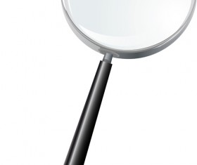 Different Magnifying glass design vector set 04