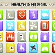 Link toSet of different medical icons vector 01