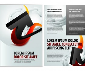 Original Business Brochure cover Vector 01