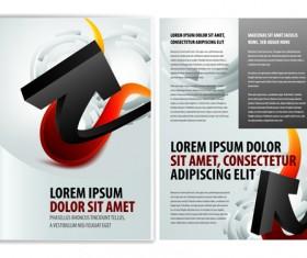 Original Business Brochure cover Vector 01