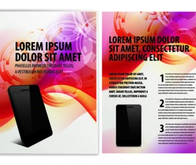 Original Business Brochure cover Vector 03