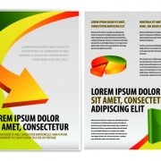 Link toOriginal business brochure cover vector 04