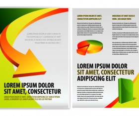 Original Business Brochure cover Vector 04