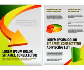 Original Business Brochure cover Vector 04