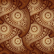 Link toSet of ornate paisley seamless pattern vector 01