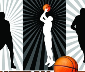 Different Sports elements design vector 01
