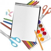 Link toDifferent school supplies vector graphic set 01