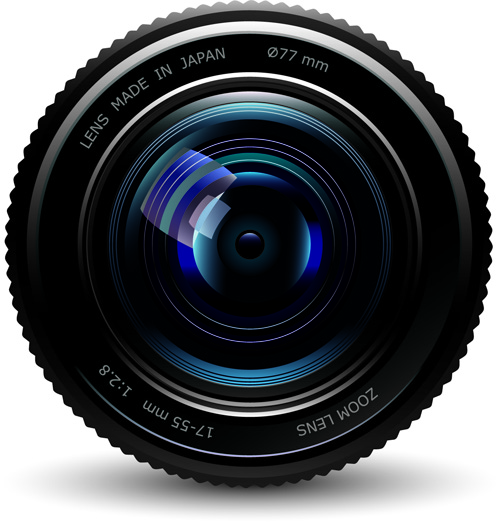 Set of different Photo Camera elements Vector 03 - Vector Other ...