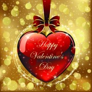 Link toSet of luxurious valentine cards vector 04