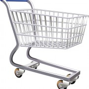 Link toSet of shopping trolley elements vector graphic 02