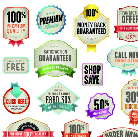 Various sale Stickers and labels design vector 02 - Vector Label ...