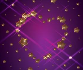 Set of Unusual heart elements vector graphic 04