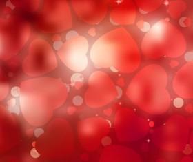 Bright Valentine day card background vector 04