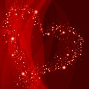 Link toRed style for valentine day design vector 05