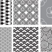 Link toVarious style decorative pattern vector