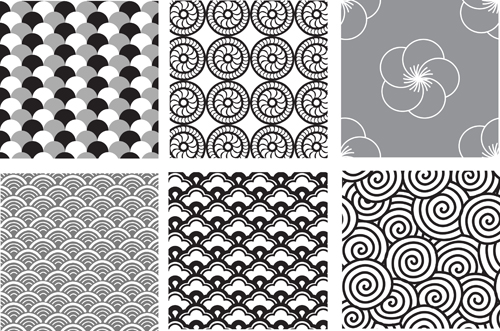 Various Style Decorative pattern vector - Vector Pattern ...
