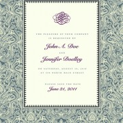 Link toVintage floral invitations cover design vector 02