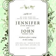 Link toVintage floral invitations cover design vector 05