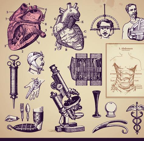 Consider, that vintage medical photo