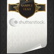 Link toLuxurious vintage black background vector set 05