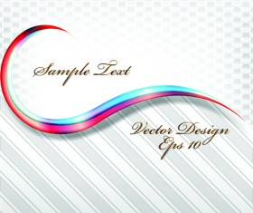 Set of Abstract White vector Backgrounds graphic 01