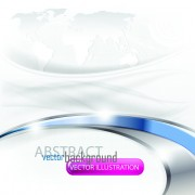 Link toSet of abstract white vector backgrounds graphic 04