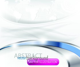 Set of Abstract White vector Backgrounds graphic 04