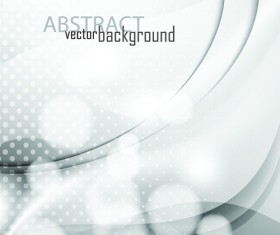 Set of Abstract White vector Backgrounds graphic 05