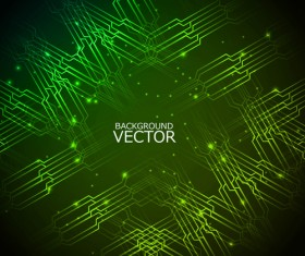 Concept Shiny background vector set 01