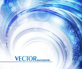 Shiny Swirls background concept vector 02