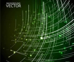 Concept Shiny background vector set 03