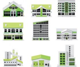 Creative Architecture design elements vector set 02