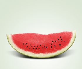 Vivid Watermelon template psd