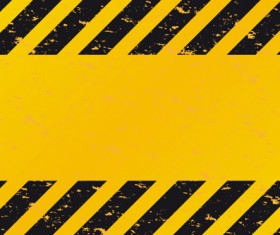 Construction Warning signs Background design vector 03