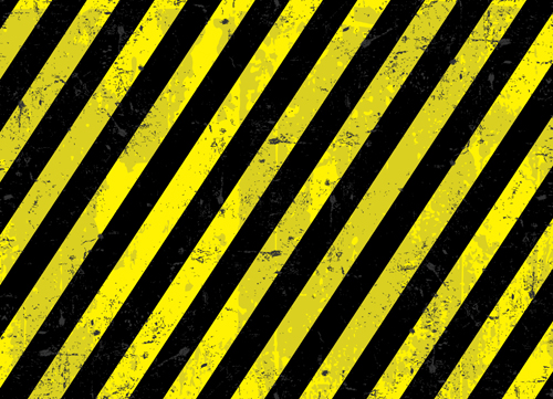 Construction Warning Signs Background Design Vector 04