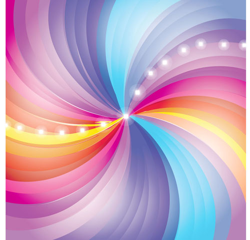 Stylish Colorful Backgrounds Vector Set 04 Vector