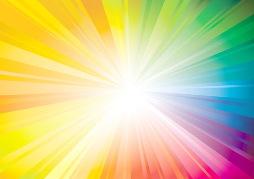 Stylish Colorful Backgrounds Vector Set 05