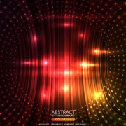 Link toShiny circle background design vector 03