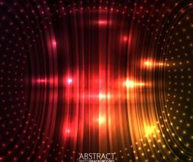 Shiny circle background design vector 03